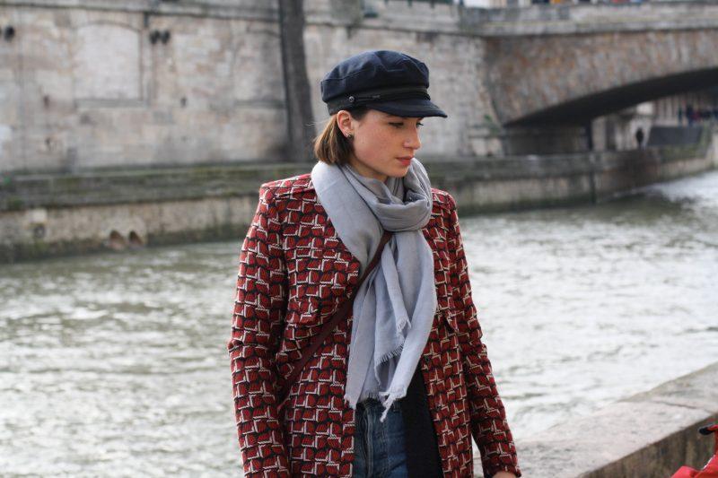 manteau-tara-jarmon-casquette