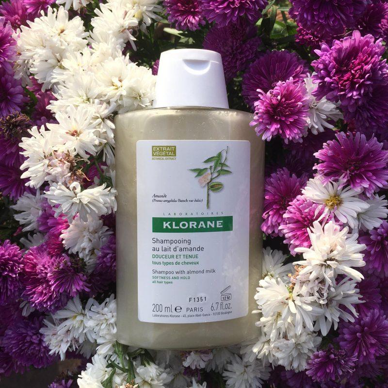 klorane shampoing lait d'amande